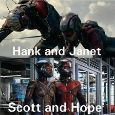 Ant-man and Wasp:Then and Now. : marvelstudios