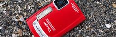 """Olympus Tough: a """"shockproof, waterproof, freezeproof, and virtually indestructible"""" camera."""