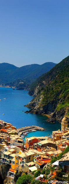 Vernazz ~ is a cliffside fishing village with astonishingly beautiful views…