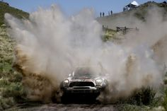 Nasser Al-Attiyah MINI Dakar Rally 2014