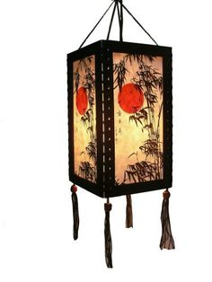 RED MOON ASIAN ORIENTAL SAA PAPER HANGING LIGHT BULD COVER by HANDMADE. $24.99. Item specifics  Item Type:Bulbs decor Place of Origin:Thailand  Shade Type:Saa paper Features:Natural material ,100% handmade Body Material: Saa paper Warranty:90 days Style:Art Deco Is Bulbs Included:No Color:as show Design:Original Use place:Reading room ,bedroom ,hotel room etc. Surface treatment: Painted Frame:Wood