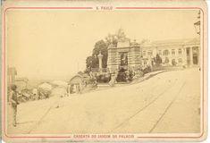 Cascata do Jardim do Palacio Ano: década de 1890