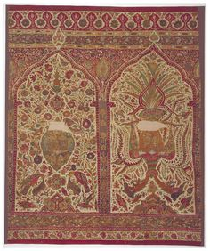 Cotton tent hanging, India, mid 17th c.