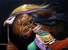 Frank Morrison   Africano pintor americano   O Jazz Urbano