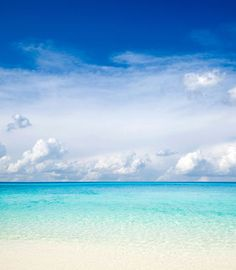Beautiful ocean waters