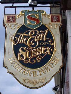 english pub sign - Google Search