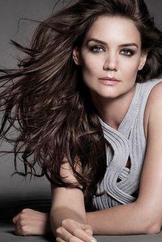 Katie Holmes is the new face (er hair...) of Alterna!