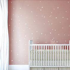 Gold star decals – Gold cut out stars, cute little stars, delicate star pattern, Gold pattern Gold wall decals by Jesabi - Babyzimmer Star Bedroom, Star Nursery, Baby Bedroom, Baby Room Decor, Bedroom Wall, Girls Bedroom, Gold Walls, Little Girl Rooms, Bedroom Colors