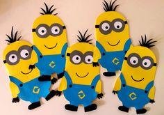 Minions Einladungskarten Kindergeburtstag