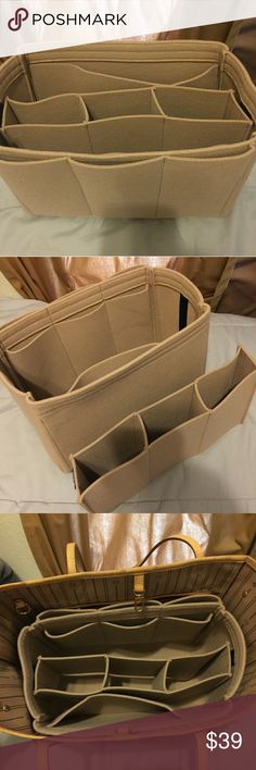 Felt bag organizer for Louis Vuitton neverfull MM Brand New Bags Cosmetic Bags & Cases