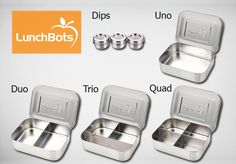 GIVEAWAY: Stainless Steel LunchBots Set ($95 Value)   The Mommypotamus   organic SAHM sharing her family stories and recipes