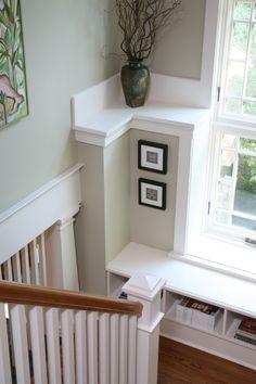 Stair Winndow seat perfect for B & B