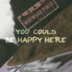 We are only 1 week away from the thrilling premiere of Wayward Pines on FOX. Tune-in next Thursday at to see what secrets this small town holds. Pushing Daisies, Fantastic Beasts And Where, Lie To Me, How To Get Away, Musical Theatre, Memes, Thursday, Pine, Netflix