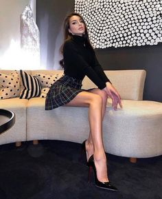 nita-xu:See more pictures Classy Outfits & Style. Classy Outfits, Chic Outfits, Fashion Outfits, Look Fashion, Girl Fashion, Womens Fashion, Mode Ootd, Paris Chic, Look Girl