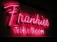 I can't wait to get back to Las Vegas. First stop will be Frankie's Tiki Room. Delicious fruity cocktails, yes please!
