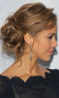 Unstructured hair up