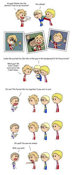 The Faroes - Scandinavia and the World Funny Cute, The Funny, Hilarious, Cute Comics, Funny Comics, Satw Comic, Cheesy Puns, Funny Memes, Jokes