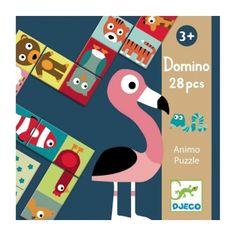 DJECO Domino Puzzle Tiere