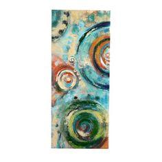 Sapphire Spheres I Canvas Art Print | Kirklands