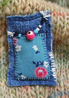 Fabric Broach | Flickr - Photo Sharing!