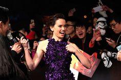 Prime foto ufficiali della première cinese di STAR WARS: IL RISVEGLIO DELLA FORZA