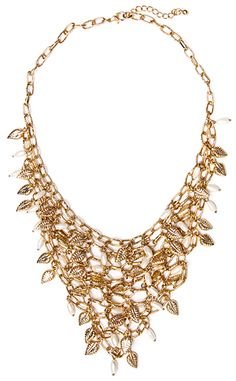 Dynamite Pearl and Leaf Necklace Leaf Necklace, Online Shopping Clothes, Pearls, Clothes For Women, Diamond, Jewelry, Fashion, Outerwear Women, Moda