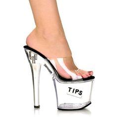 "*TipJar-721-5, 7"" PF Slide W/ ""Tips"" ""Tip Jar"" Feature $18.00 - $74.36"