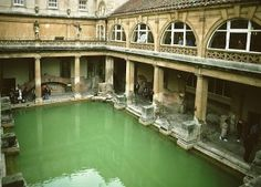 A Roman Bath, an example of implementations to thwart malaria.