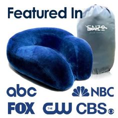 Comfy Travel Pillow for neck support http://hpclearinghouse.net/comfort-travel-pillows/