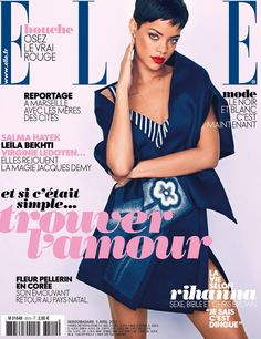 Rihanna for Elle Magazine