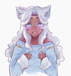 """""""credit to owner"""" my ass Voltron Allura, Princess Allura, Lotus Flower Art, Character Art, Character Design, Cute Animal Drawings Kawaii, Voltron Fanart, Voltron Ships, Cute Profile Pictures"""