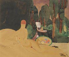 lilithsplace:  The dream, 1928 - Jan Sluijters (1881-1957)