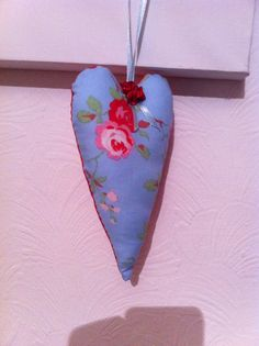 Fabric hand made hearts of different sizes and designs from £1:50- £3:50, checkout STITCHINGS Facebook page and leave a message?    https://www.facebook.com/pages/Stitching/611229442221551
