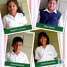 Meet a few 4th graders at Young Living Academy- Angelina, Blass, Anthony & Ariana!