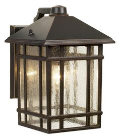 "Jardin du Jour Sierra Craftsman 11"" High Outdoor Wall Light -"