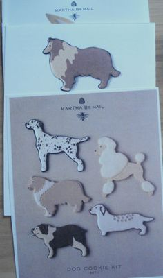 Martha Stewart by Mail Copper Cookie Cutters 2 Sets Dogs Seashore 11 PC RARE | eBay