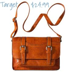 Brown Mossimo Supply Co Satchel