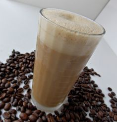 MysteryLoversKitchen.com How to Make a Coffee Egg Cream by Cleo Coyle