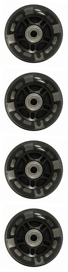 Wheels 159064: 82A Skate Rollerblade Light Up Led Inline Wheels With Abec 9 Bearings (8 Pack), -> BUY IT NOW ONLY: $40.59 on eBay!