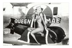 Bomber Plane Nose art