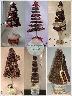 Christmas Minis, Christmas Design, Christmas Balls, Christmas Art, Christmas Holidays, Christmas Ornaments, Handmade Decorations, Xmas Decorations, Coffee Bean Art