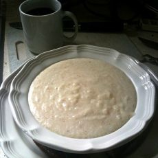 The Flying Biscuit Cafe: Creamy Dreamy White Cheddar Grits : food