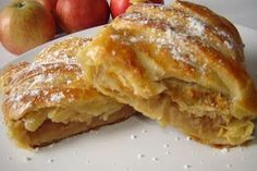 Strudel, Romanian Food, Lidl, French Toast, Breakfast, Desserts, Recipes, Pastries, Drinks