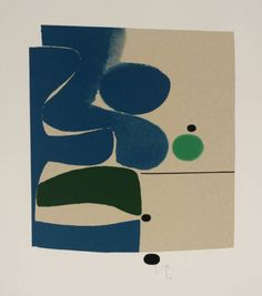 """topcat77: """" Victor Pasmore 'Blue Movement and Green', 1980 """""""