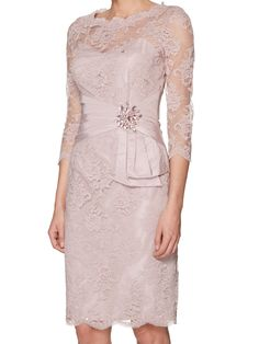 short blush mother of the bride dress