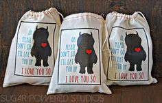 Where the Wild Things Are Iron-on Bag Template  I'll Eat