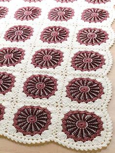 Lace Roses Afghan