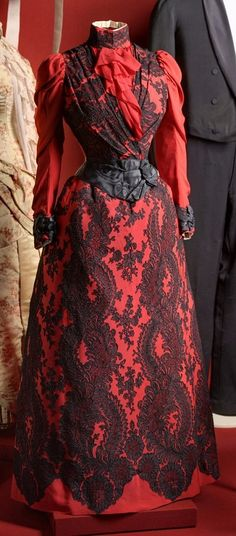 Business dress of Empress Maria Feodorovna, wife of Alexander III, St. Petersburg, ca. 1888, State Hermitage Museum