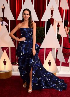 b5fe0f42b9a Louise Roe   See the best dressed at 2015 Oscars. Louise Roe in a gorgeous