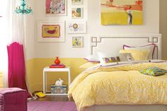 Creating a room for a mature teen while still keeping a youthful look can be challenging. Browse through these bedroom photos to get ideas on decorating your teen's bedroom.